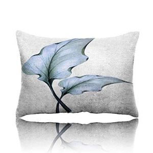Bluish Leaves Calla Toddler Pillow