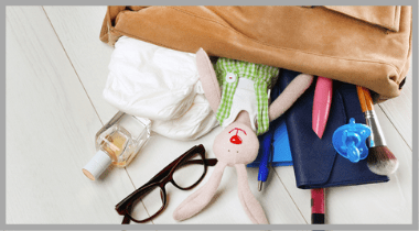 Hacks to Organize Diaper Bag : Mom Tips